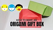 Origami GIFT BOX | How to make a paper gift box