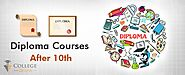 Diploma Courses After 10th: List of Diploma Courses After 10th - Scope, Colleges, Fees, Job