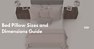 Bed Pillow Sizes and Dimensions Guide | Fine Pillow