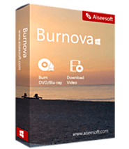 Aiseesoft Burnova 1.3.58 Crack 2020 + Activation Keys Free Download