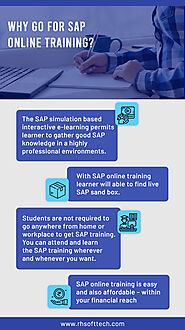 Why Go For SAP Online Training?