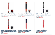 Buy Ball marker and Putter Grip in York