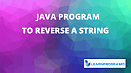 How to Reverse a String in Java Word by Word - LearnProgramo
